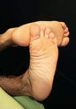 ноги укомплектовывают личным составом вне время Стоковые Изображения