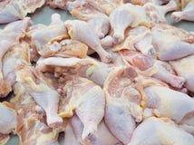 ноги цыпленка близкие снятые вверх Стоковое Изображение