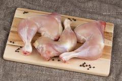 ноги цыпленка близкие снятые вверх Стоковые Изображения