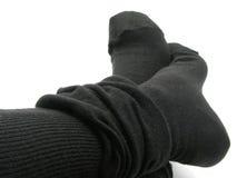 ноги чулков Стоковые Фото