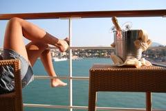 ноги шампанского Стоковая Фотография