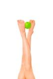 ноги яблока Стоковая Фотография RF