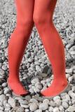 ноги 2 женщины Стоковое фото RF