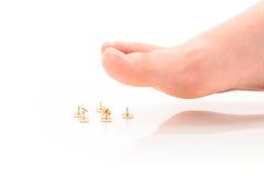 Ноги Стоковое Изображение RF