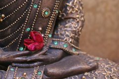 ноги buddhas Стоковые Изображения