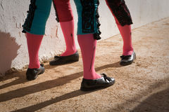 Ноги bullfighters Стоковое фото RF