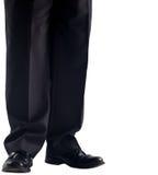 Ноги Businessmans и ботинки платья Стоковое Фото