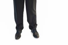 Ноги Businessmans и ботинки платья Стоковое Изображение RF