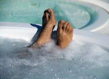ноги jacuzzi Стоковое Фото