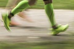 Ноги jogger Стоковые Фото