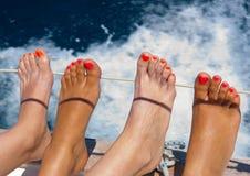 ноги multi Стоковые Фотографии RF