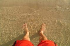 ноги s купальщика Стоковые Фото
