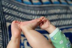 ноги s младенца Стоковое фото RF