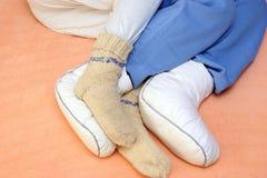 ноги s 2 пар Стоковое Изображение