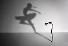 Ноготь и танцор Стоковые Фото