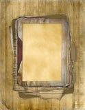 ноготь grunge рамки старый иллюстрация вектора