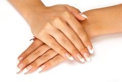 ноготь manicure стоковое фото rf