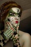 Ногти женщины длинные Стоковые Изображения RF