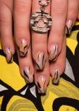 ногти искусства красивейшие Стоковые Фотографии RF