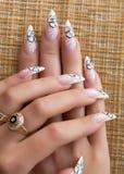 ногти искусства красивейшие стоковые фото