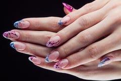 Ногти и руки Стоковые Фото