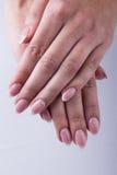 Ногти и руки Стоковое фото RF