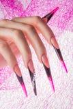 Ногти и руки Стоковая Фотография RF