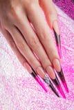 Ногти и руки Стоковая Фотография
