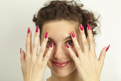 ногти Стоковое Фото