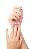 ногти стоковые фотографии rf