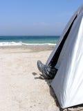 ног шатер вне Стоковое Изображение