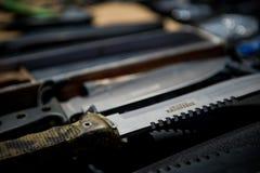 ножи Воинские ножи стоковые изображения
