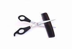 ножницы гребня Стоковое фото RF