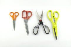 Ножницы изолированные с белой предпосылкой Стоковое Изображение RF