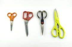 Ножницы изолированные с белой предпосылкой Стоковые Изображения RF