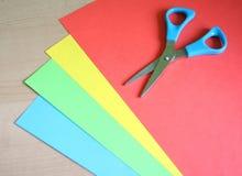ножницы карточек Стоковое Фото