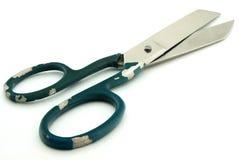 Ножницы на белой предпосылке Стоковые Изображения