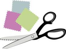 Ножницы лоскутного одеяла Стоковые Фотографии RF