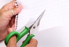 Ножницы стоковое изображение rf