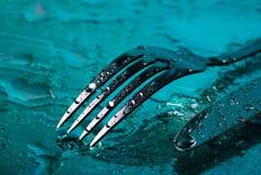 нож вилки вниз Стоковые Изображения RF