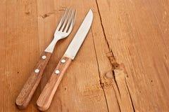 нож вилки Стоковые Изображения RF