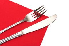 нож вилки Стоковая Фотография