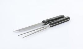 нож высекая вилки Стоковые Изображения