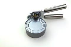 нож для вскрытия консервных банок Стоковые Изображения