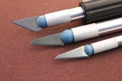 Нож зубила Деревянное зубило Стоковая Фотография