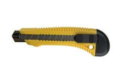 Нож. Изолированный на белой предпосылке Стоковые Изображения