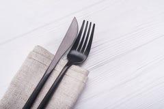 Нож и вилка Стоковое Фото