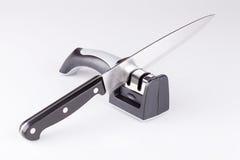 Нож и заточник Стоковое Изображение RF