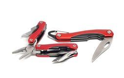 нож и плоскогубцы Мульти-инструмента Стоковые Фотографии RF
