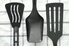 нож кухни вилки оборудования Стоковые Фотографии RF